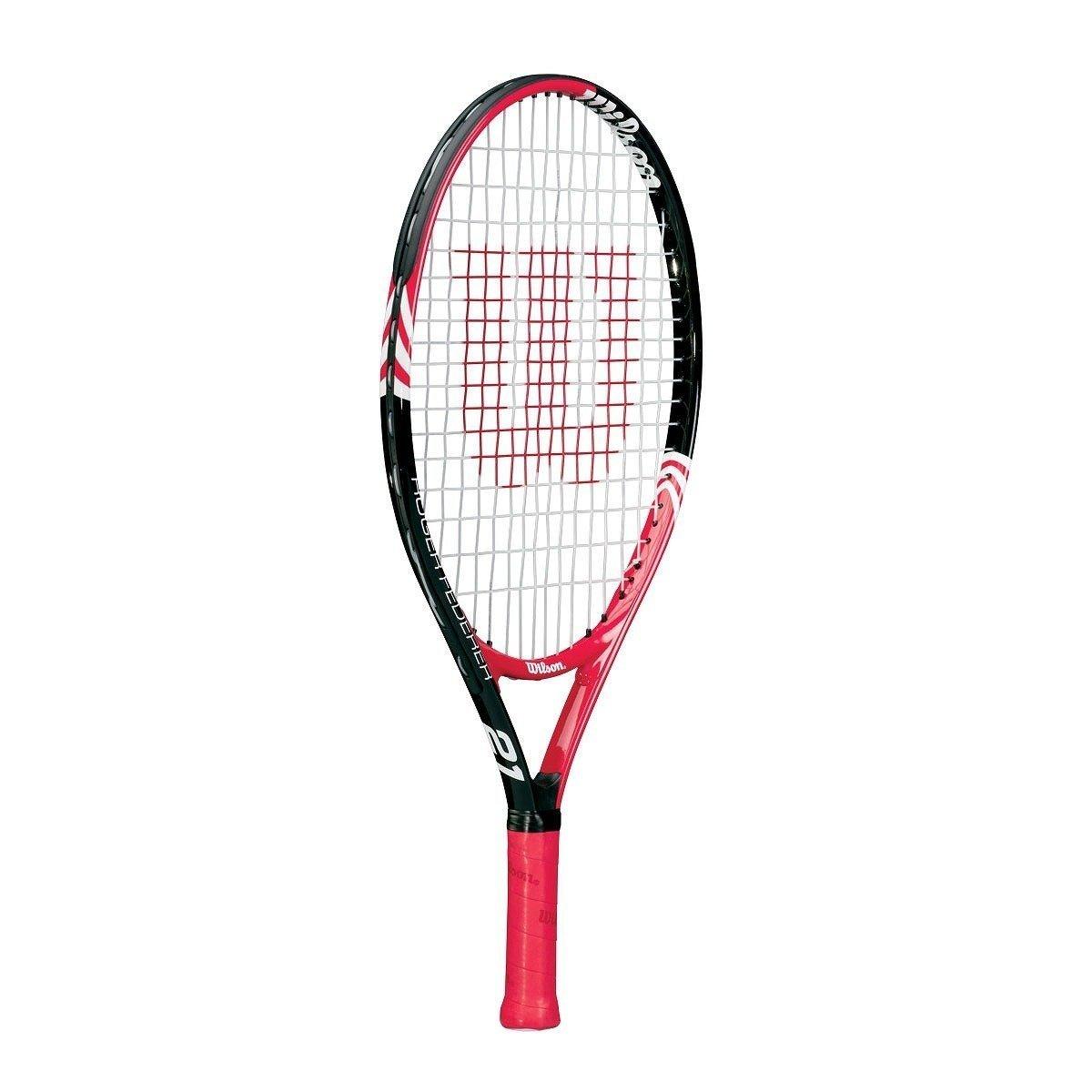 "Wilson roger federer 21"" junior tennisketcher fra Wilson tennis fra billigsport24"