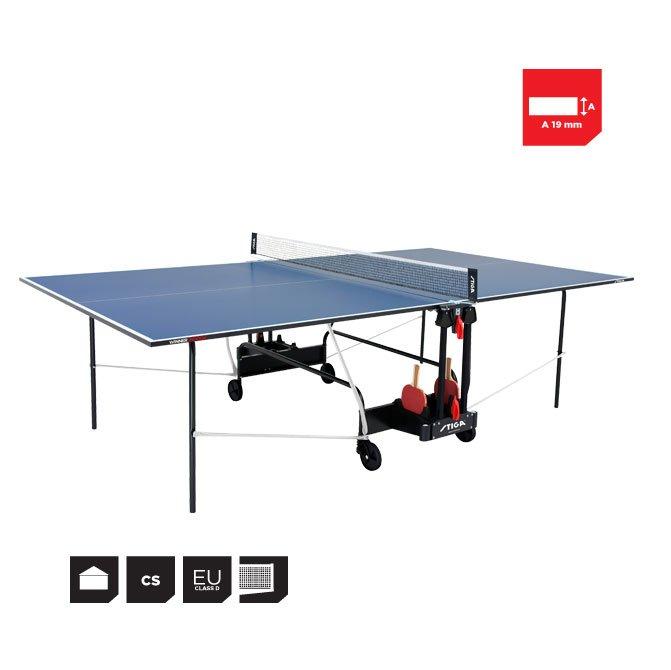 Stiga Winner Indoor Bordtennisbord - Inklusiv Fragt.