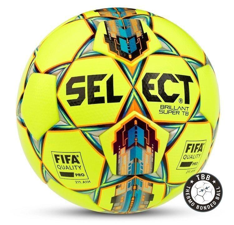 Select Brilliant Super Fodbold - Gul & Blå