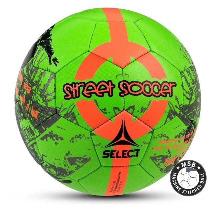 Select Street Fodbold - Grøn & Orange