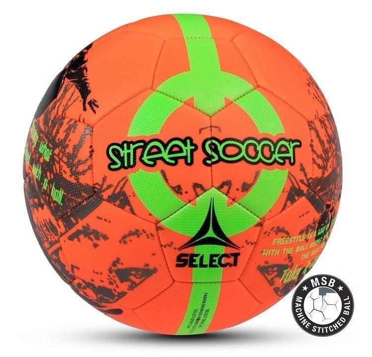 Select Street Fodbold - Orange & Grøn