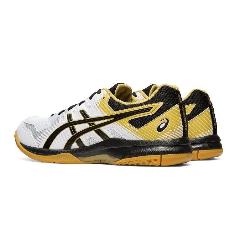 Asics Gel Rocket 9 Badminton Shoes Black and White