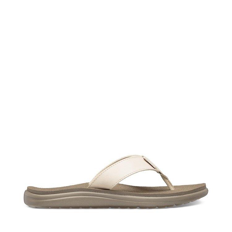 Teva Voya Flip Leather Sandal Dame
