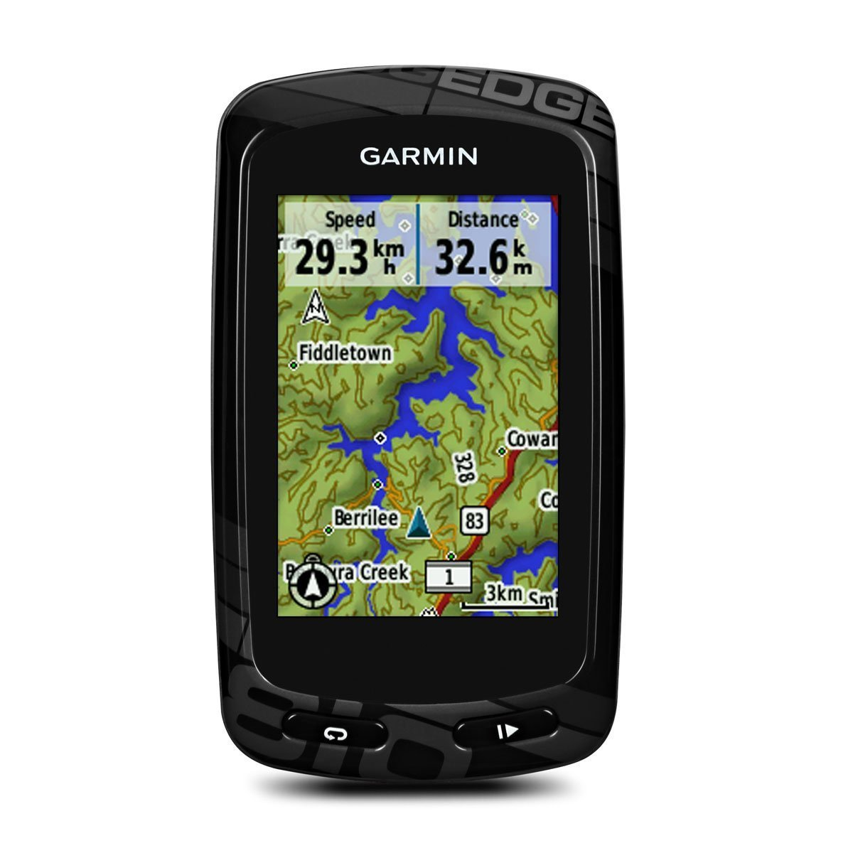 Garmin – Garmin edge 810 bundle (puls + kadance + kort) på billigsport24