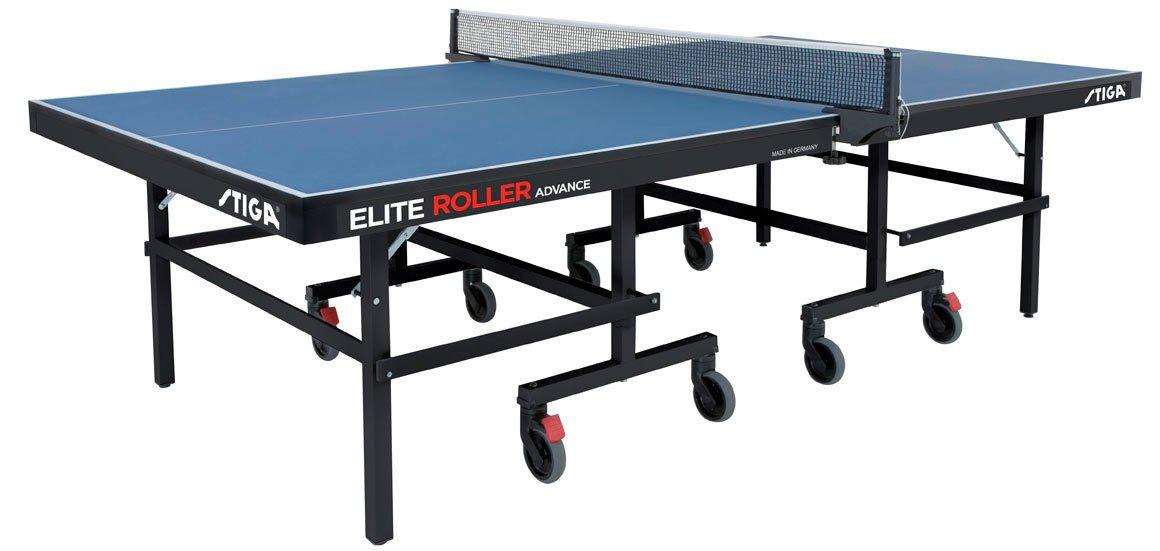 Billede af Stiga Elite Roller Advance Bordtennisbord. Inklusiv Fragt.