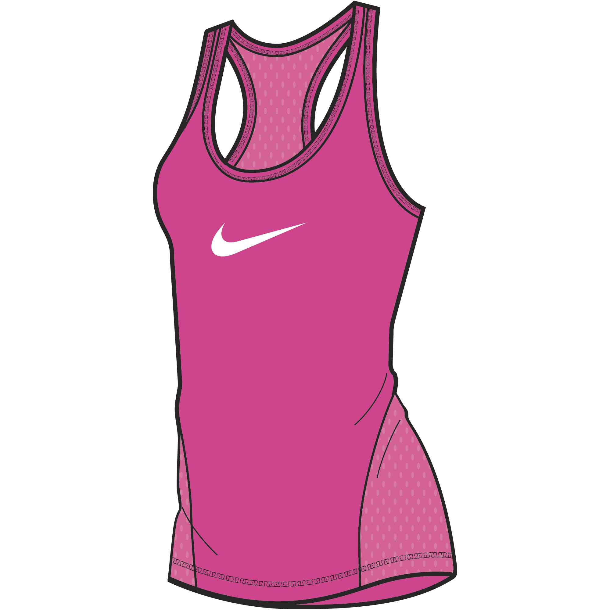 Billede af Nike Swoosh Dame Top