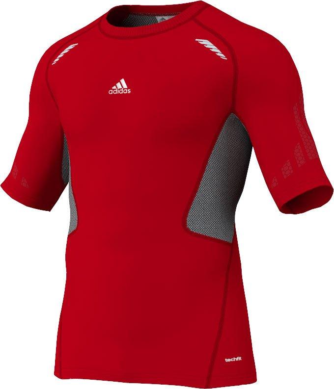 Adidas techfit preperation t-shirt herre fra Adidas sport performance på billigsport24