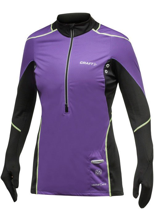 Craft Elite Run Wind Jersey Woman