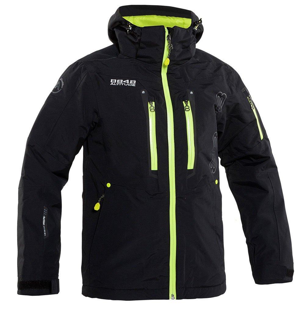 8848 altitude bristol skijakke sort junior fra 8848 altitude på billigsport24