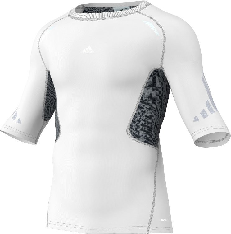 Adidas sport performance – Adidas techfit preperation t-shirt herre på billigsport24
