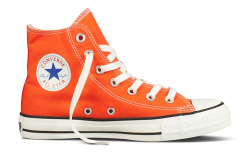 Converse – Converse all star high orange fra billigsport24