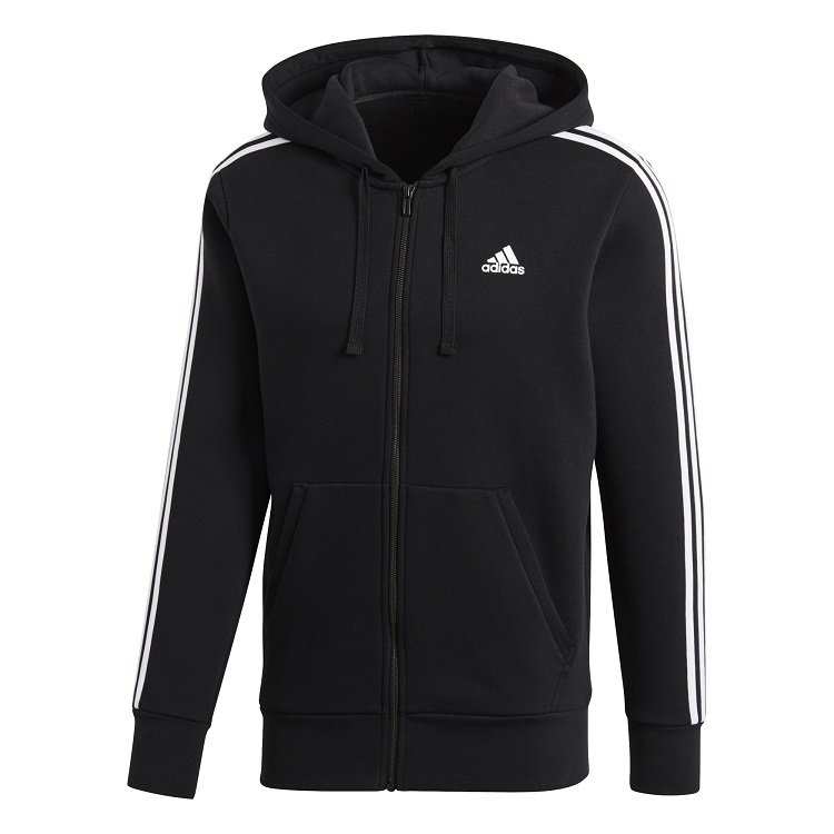 Image of   Adidas Essential 3 Stripes Sweatshirt Herre