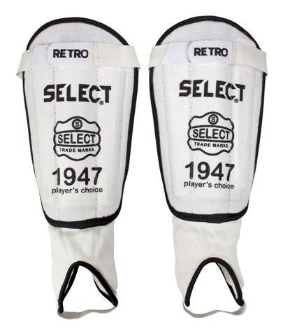 Select retro safe 1947 benskinne fra Select på billigsport24