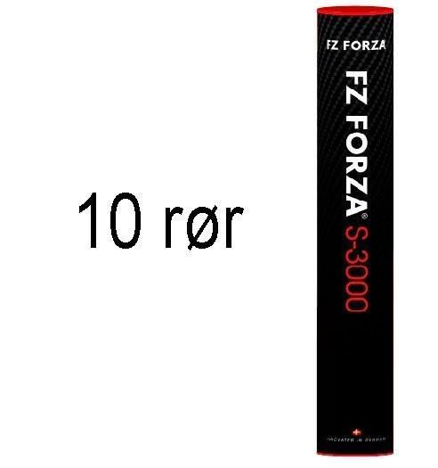 Forza S-3000 Badmintonbolde - 10 stk.