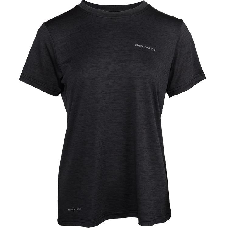 Endurance Maje Melange T-shirt Dame