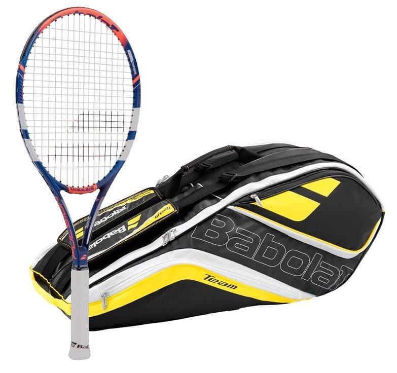 Babolat Pulsion 102 / Teamline 6X Tennispakke