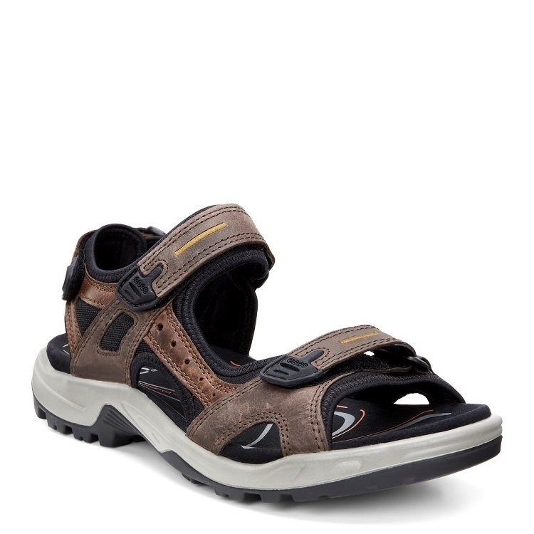 8bb2688f567 Ecco Offroad Yucatan Sandal Herre brun
