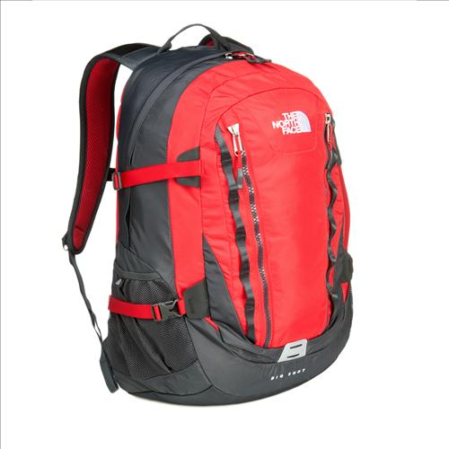 North face big shot ii red/grey fra The north face fra billigsport24