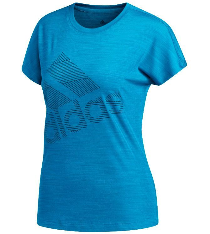 Image of   Adidas Badge Sport T-shirt Dame