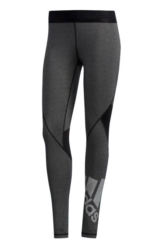 Image of   Adidas Alphaskin Badge Tights Dame grå