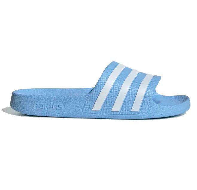Adidas Adilette Badesandaler Dame, blå thumbnail