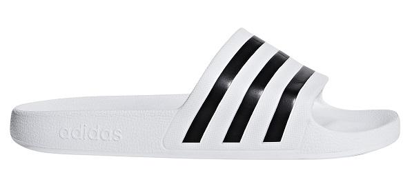 Image of   Adidas Adilette Badesandaler, hvid