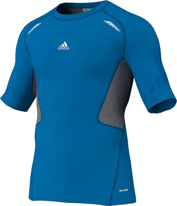 Adidas techfit preperation t-shirt herre fra Adidas sport performance fra billigsport24
