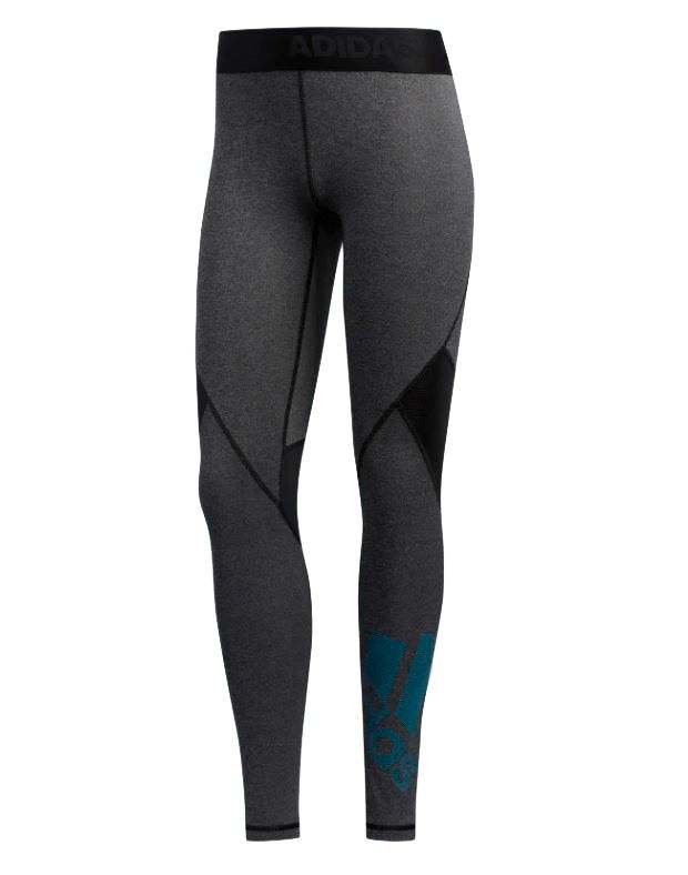 Image of   Adidas Alphaskin Badge Tights Dame sort