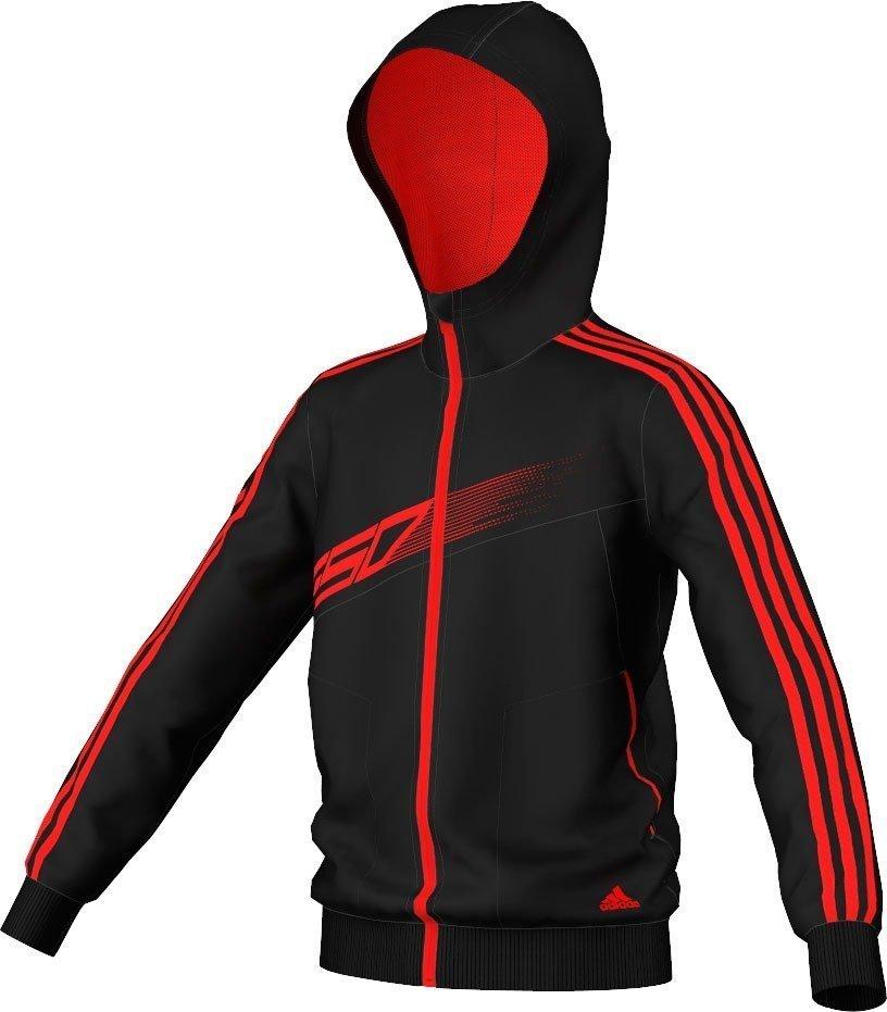 Adidas f50 full-zip knit hoodie junior fra Adidas sport performance fra billigsport24