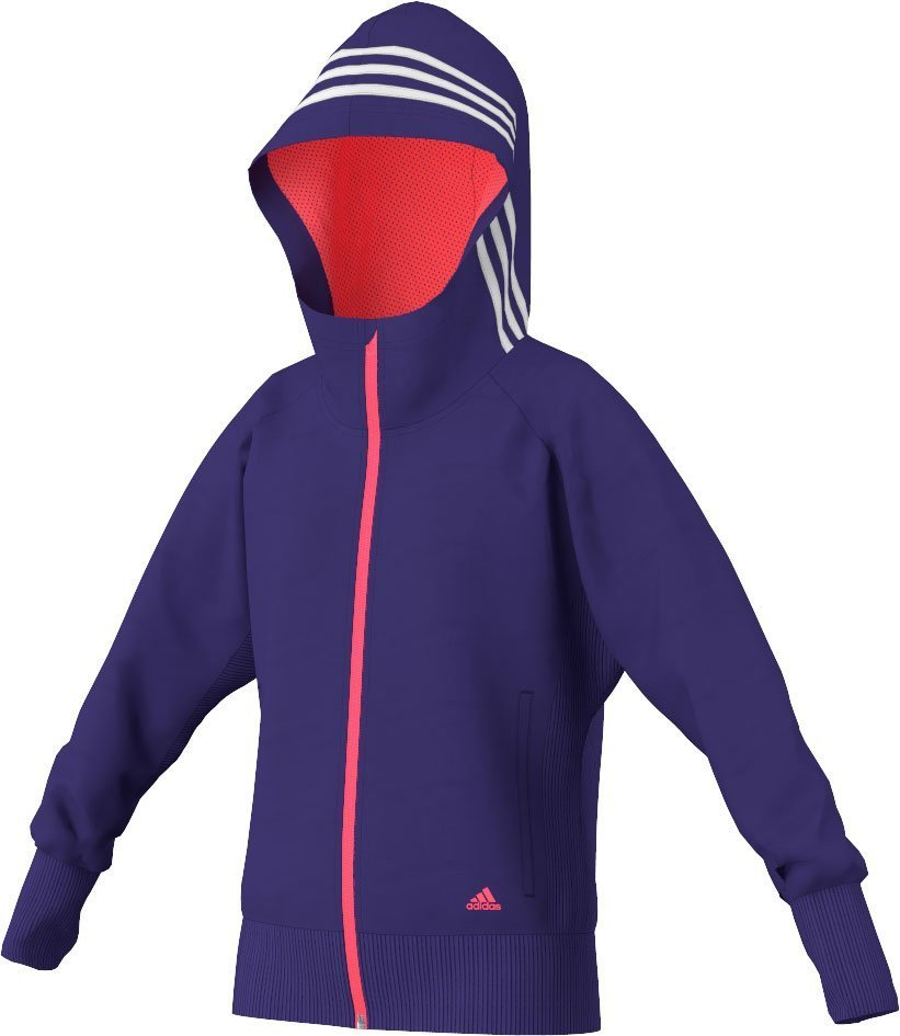 Adidas dance knitted full zip hoodie junior fra Adidas sport performance på billigsport24