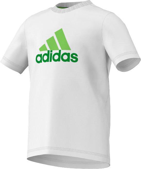 Adidas sport performance – Adidas essentials logo tee junior fra billigsport24