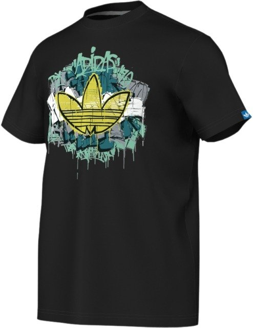 Adidas originals Adidas cross trefoil tee herre fra billigsport24