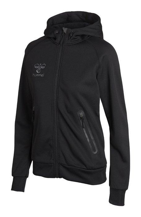 Hummel – Hummel poly zip hoodie dame på billigsport24