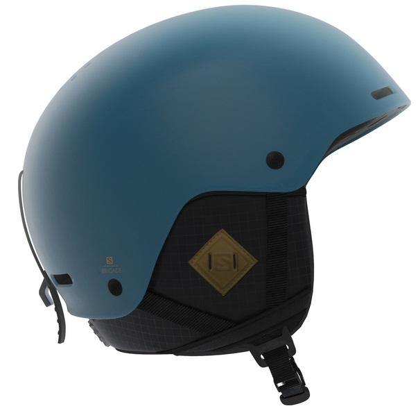 Salomon Brigade+ Skihjelm, Blå