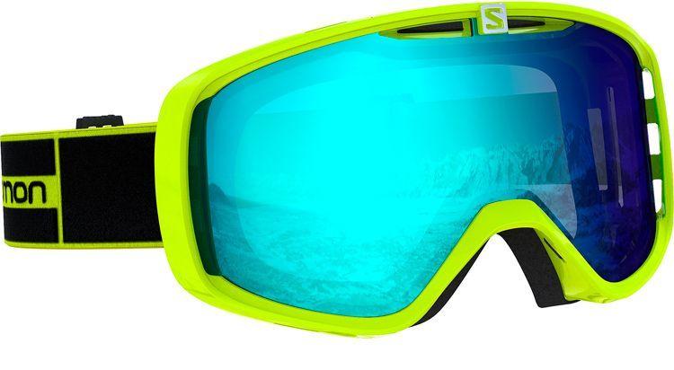 Salomon Aksium Skibriller, neon