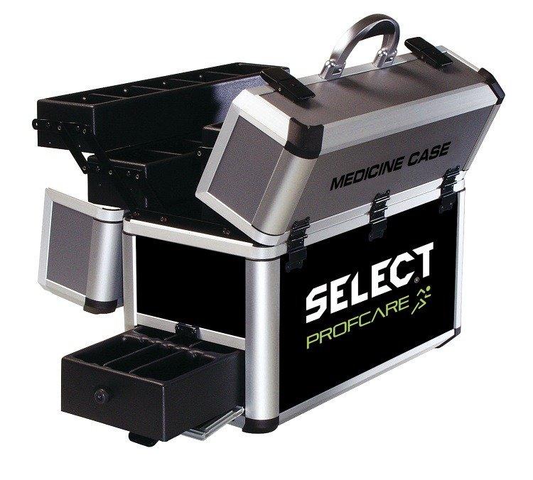 Select Medicinkuffert Aluminium - Uden Indhold