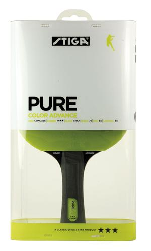 Billede af Stiga Pure Color Advance Green Bordtennisbat