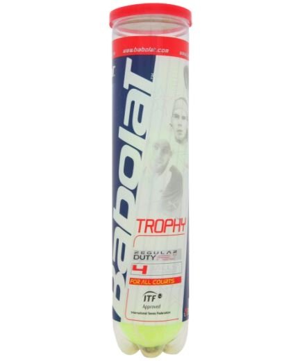 Babolat Trophy Tennisbolde - 4 stk.