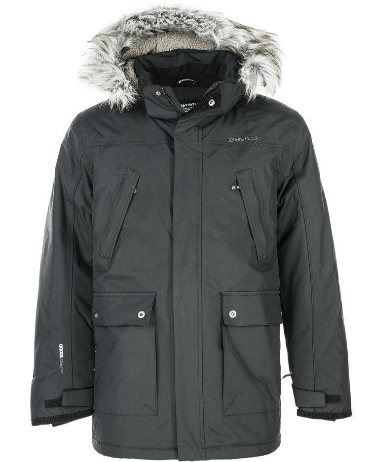 Whistler Heideberg Vinterfrakke Herre (aftagelig pelskrave)