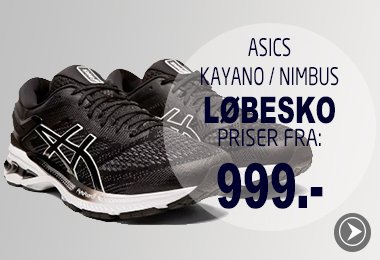 Kayano og Nimbus Løbesko priser fra 999.-