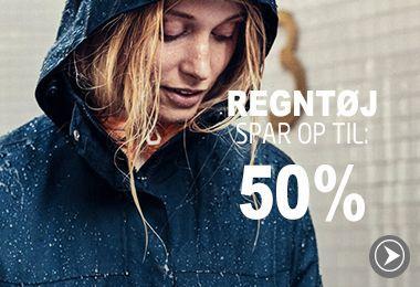 Regntøj spar op til: 50%