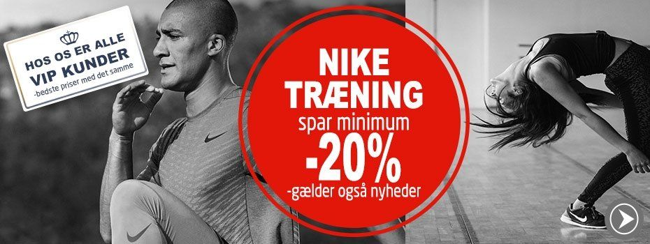 Minimum 20% på Alt Nike Træning