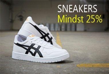 Sneakers - mindst 25% rabat